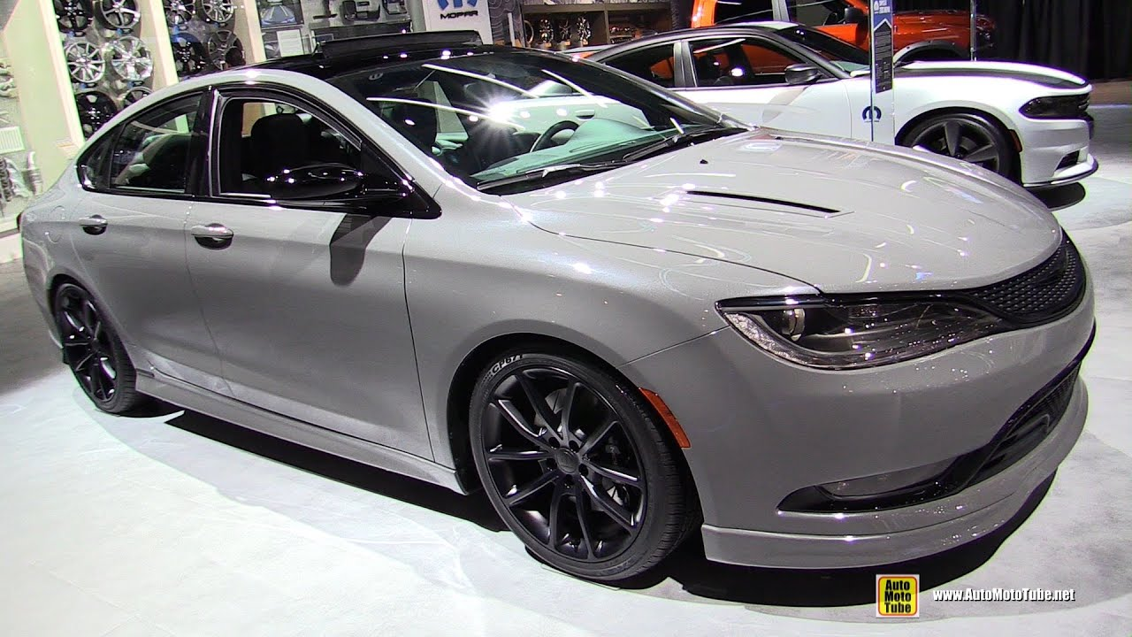2016 Chrysler 200s Mopar Exterior And Interior