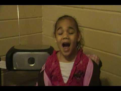Haylee the kindergarten queen of POP!