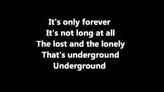 Underground David Bowie Karaoke / Instrumental [Official]