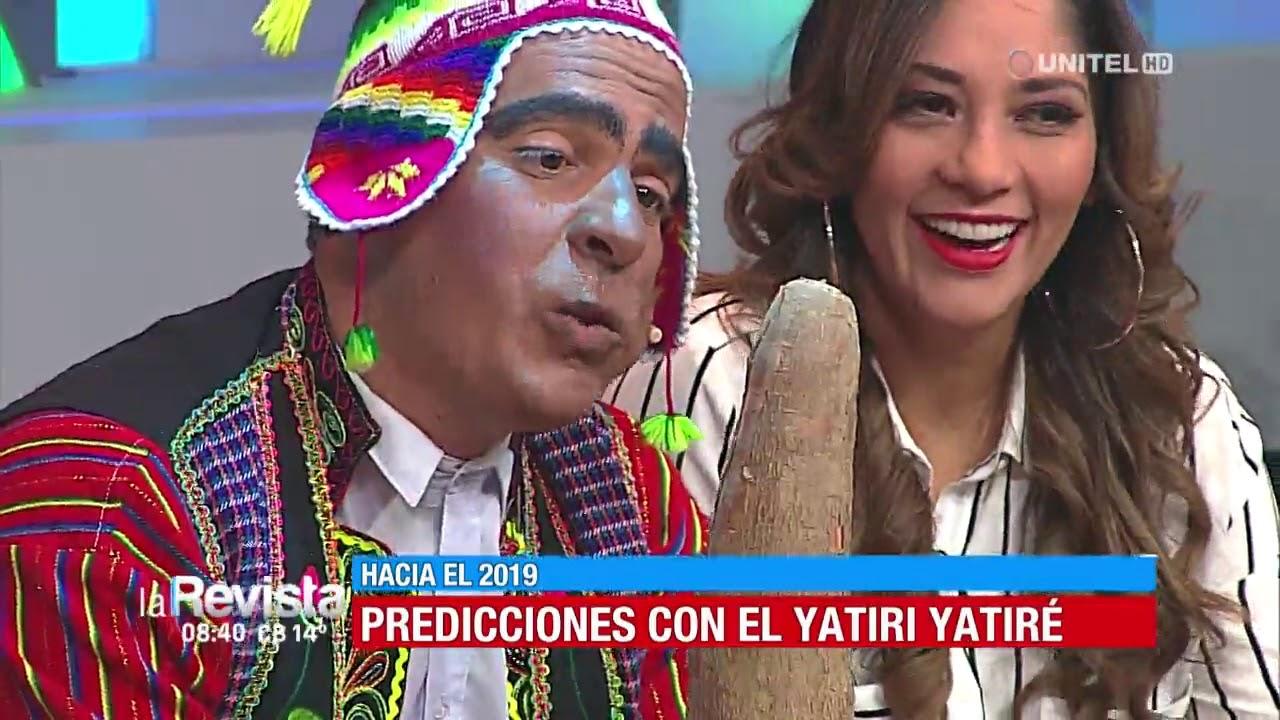 Humor: Conoce la predicción del Yatiri Yatiré para Oliver, Gabriela y Angélica