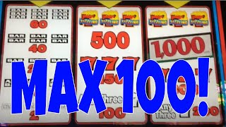 100 SPINS AT MAX BET ✧ WHAT'S MY % PAYBACK? ✧ SIZZLING 7'S SLOT MACHINE ✧ SAN MANUEL CASINO