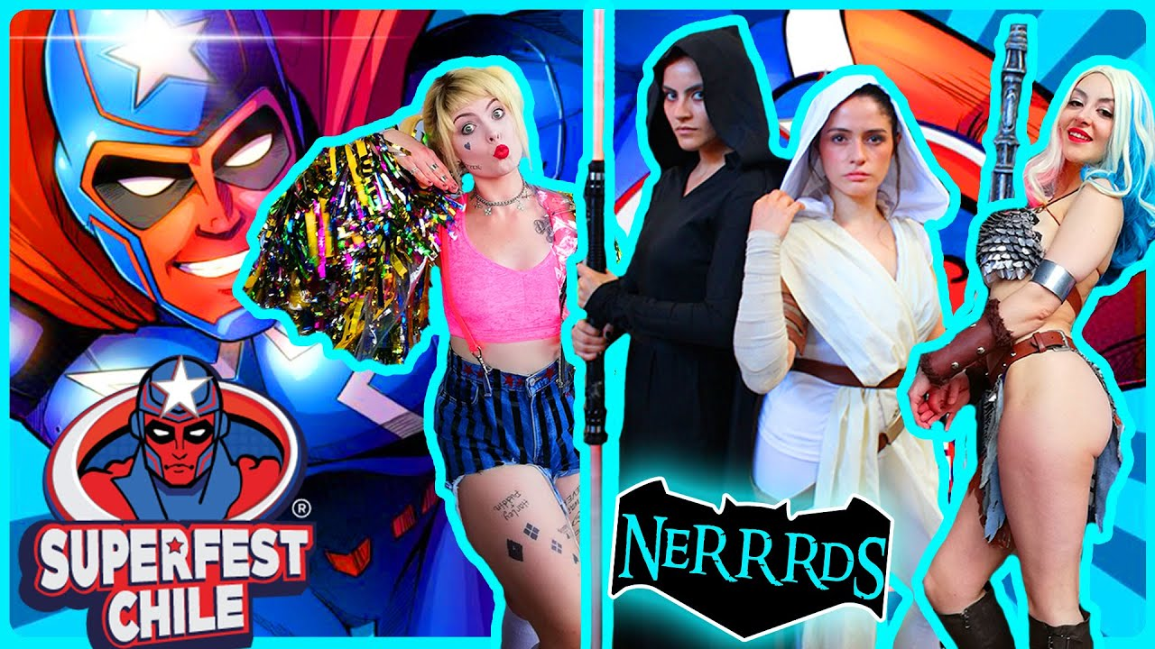 Cosplay Music Video   Super Fest Chile 2020   NeRRRdS