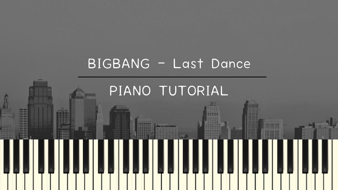 Last Dance Sheet Music BigBang – Sheet Music Plus – Free Sheet Music