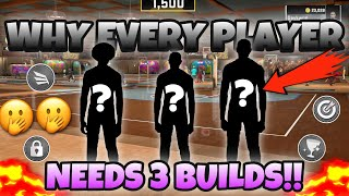 WHY EVERY PLAYER NEEDS 3 BUILDS IN 2K‼️😳 (YOU DON'T REALIZE THIS WHILE PLAYING)