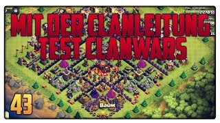 Let´s Play Clash of Clans #43 [GER] | Mit der Clanleitung! Test Clanwars! | Vicevice