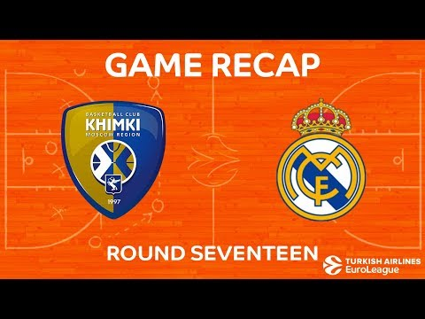 Highlights: Khimki Moscow region - Real Madrid