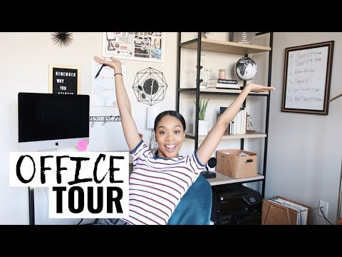 MY (DOPE) HOME OFFICE TOUR 2019