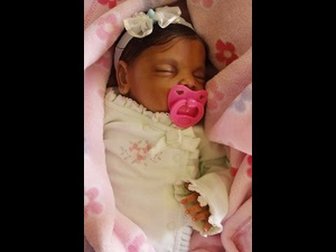 beautiful ethnic biracial aa reborn doll chloes box