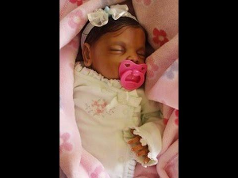Beautiful Ethnic Biracial Aa Reborn Doll Chloe S Box