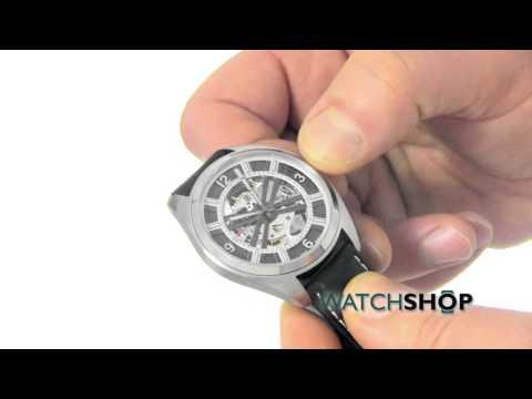 Hamilton Men's Khaki Skeleton Automatic Watch (H72515585)
