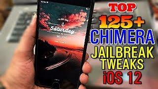 Top 125+ PLUS NEW Cydia Tweaks For Chimera Jailbreak iOS 12-12.1.2   