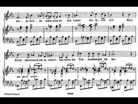 Dietrich Fischer-Dieskau sings Schubert 'Schwanengesang' - 14. Die Taubenpost