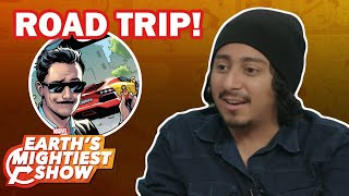 "Tony Revolori talks ""Spider-Man: Far From Home"" and Marvel Road Trips 