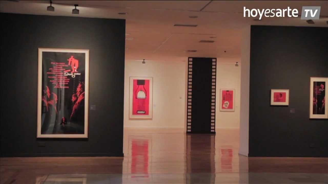 Saul Bass, Carteles de Cine en el Círculo de Bellas Artes - YouTube