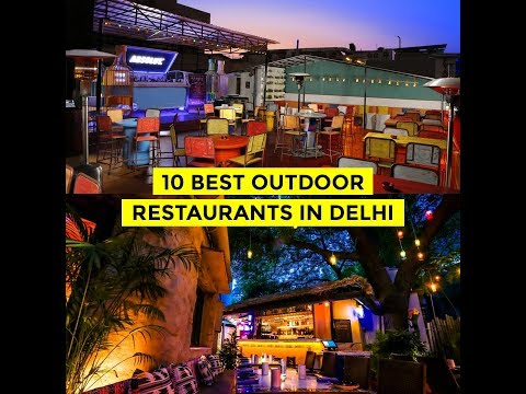 Best Outdoor Restaurants in Delhi | DforDelhi