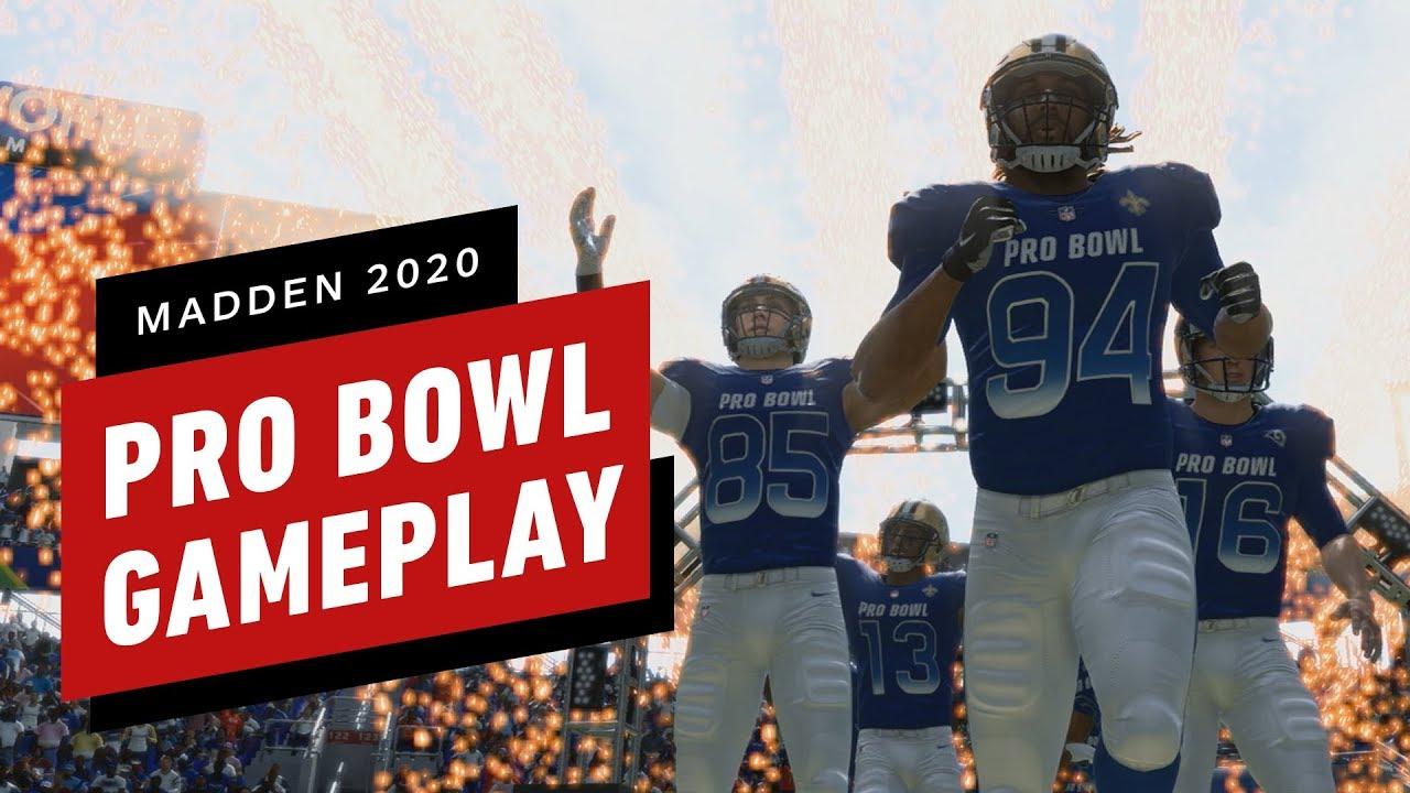 Madden NFL 20 Pro Bowl Gameplay