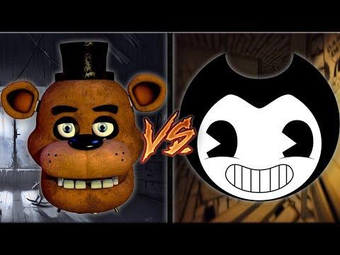 Freddy vs Bendy Rap Battle ► by FabvL & TryHardNinja (Rap War)
