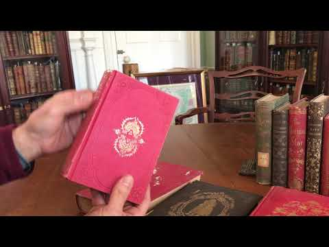 Antique Book collection- 10 decorative volumes 19th century