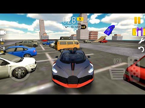 Extreme Car Driving Simulator #30 Fast Ride 400 Km/h! Android Gameplay