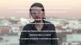 Colabora en la plataforma de campaña #yonotengounbarcenas