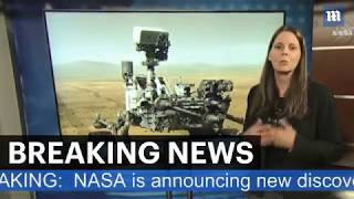 NASA is announcing new discoveries From Mars Curiosity Rover