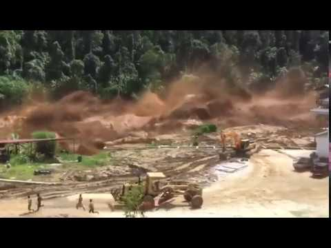 Rupture du barrage Nam Ao Hydropower Project