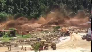 Rupture du barrage Nam Ao Hydropower Project