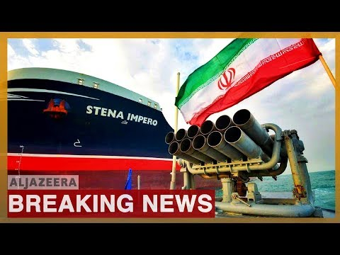 UK-flagged tanker Stena Impero seized in July leaves Iranian port