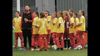 CZ1-Liga Młodziczek 2019 - Nadusia ze Ślęzą Wrocław w Wielkiej Lipie  - Mecz z Fem Gol Lubin