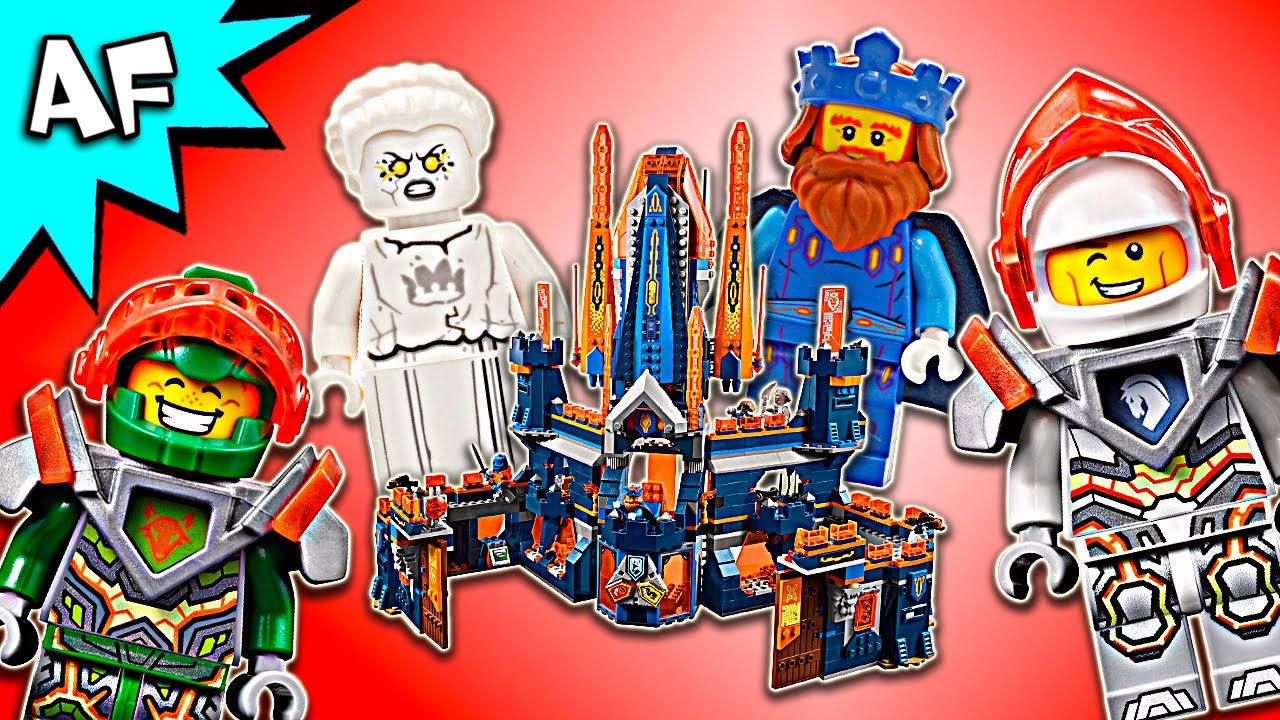 Lego Nexo Knights Knighton Castle 70357 Speed Build Youtube