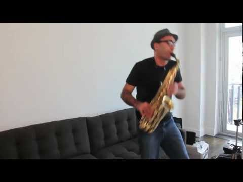 """How to Play """"Careless Whisper"""" on Saxophone - A Tutorial by Ben the Sax Guy"""