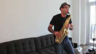 "How to Play ""Careless Whisper"" on Saxophone - A Tutorial by Ben the Sax Guy"