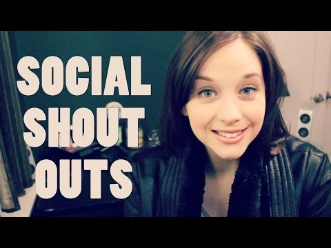 January Social Shout Outs