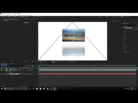 How to Create Reflection in Adobe After Effects CC 2017