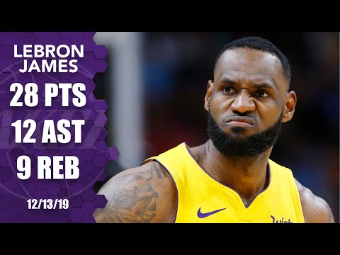 LeBron James flirts with a triple-double in Lakers vs. Heat | 2019-20 NBA Highlights
