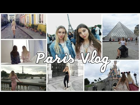 Travel Vlog: Paris 🗼 BEST INSTAGRAM SPOTS, FOOD & DISNEYLAND