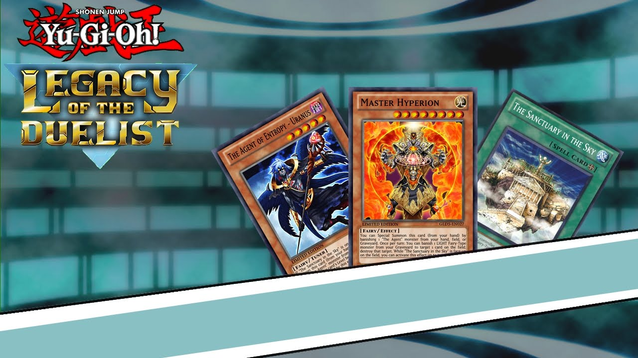 Yugioh Legacy Of The Duelist Deck Agent Hyperion