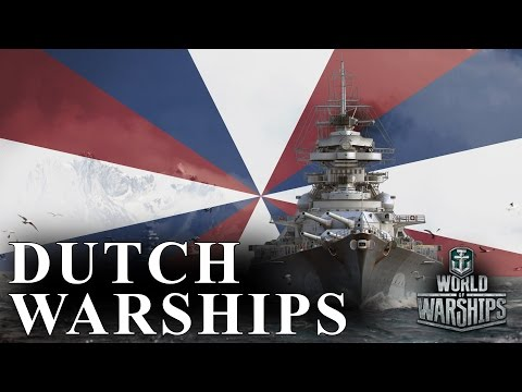 A Case for Dutch Ships in World of Warships - Dutch Cruisers, Destroyers, and Prototypes
