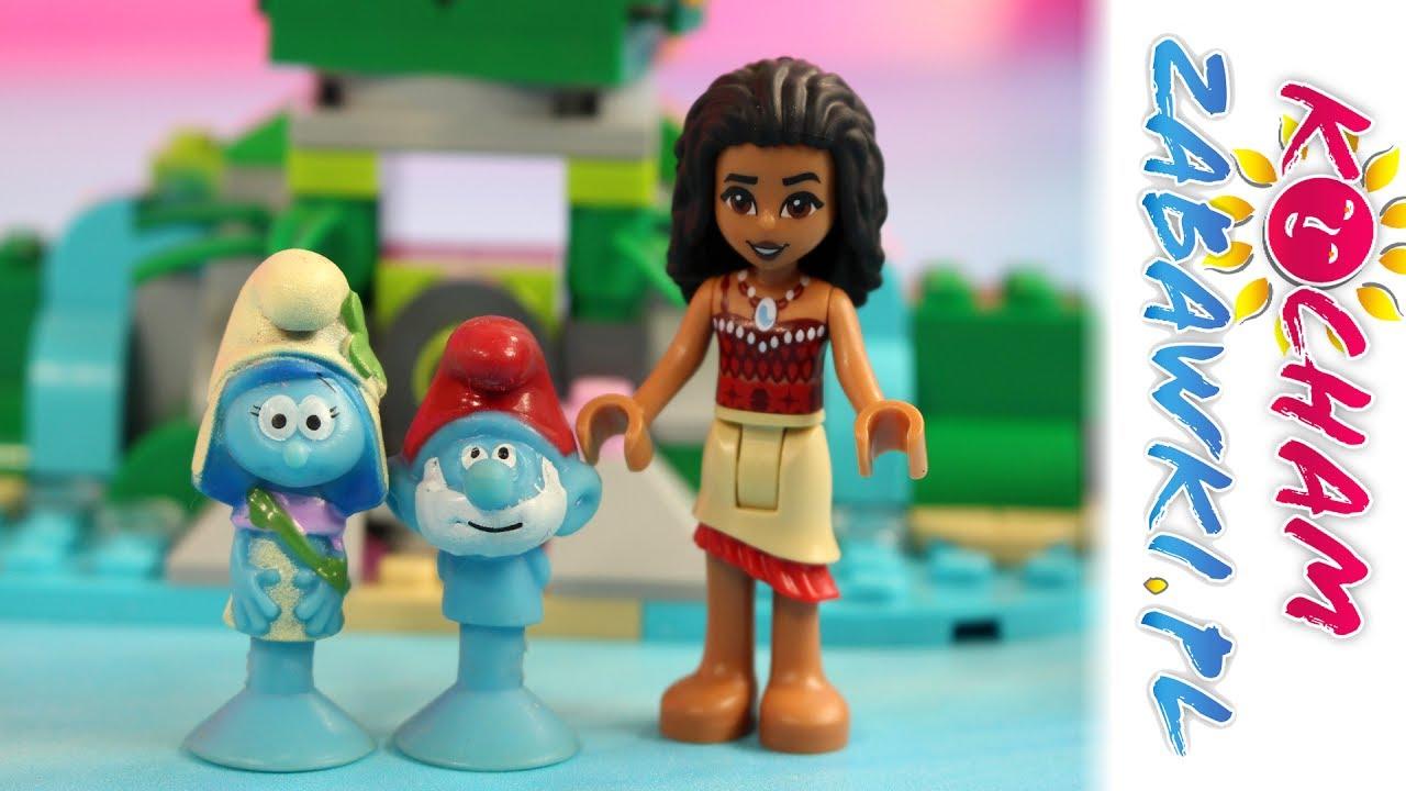 Smerfy Stikeez & Lego Vaiana – Daleka wyprawa – Bajki dla dzieci