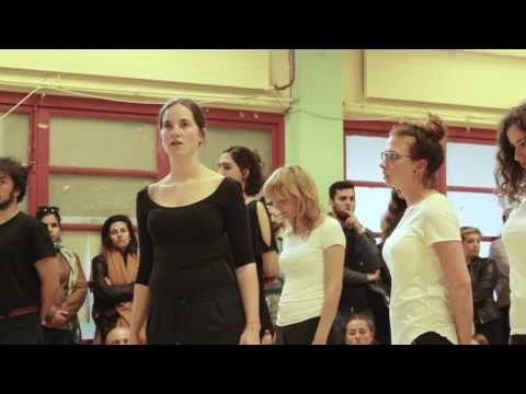 Antygone on Tour - The Athens Performance -