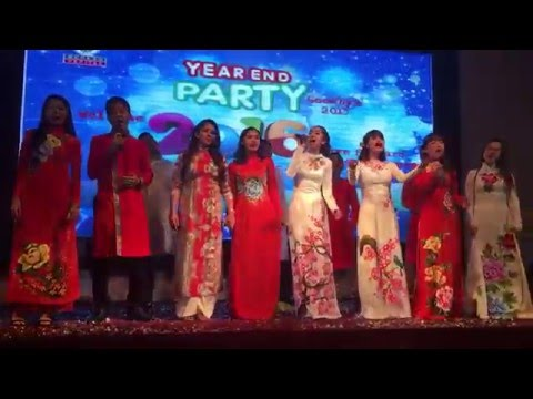 BV Việt Nam year end party 2015