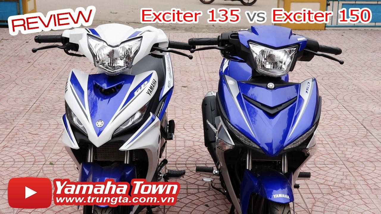 Exciter 150 và Exciter 135 ▶ So sánh một Huyền thoại xe côn tay! (Bản GP)