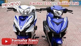 Exciter 150 và Exciter 135 - So sánh một Huyền thoại! (Bản GP) ✔