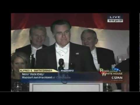 Romney Joke Analysis From Alfred E. Smith Dinner