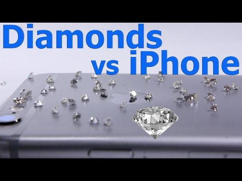 Diamond vs iPhone - Ultimate Scratch test