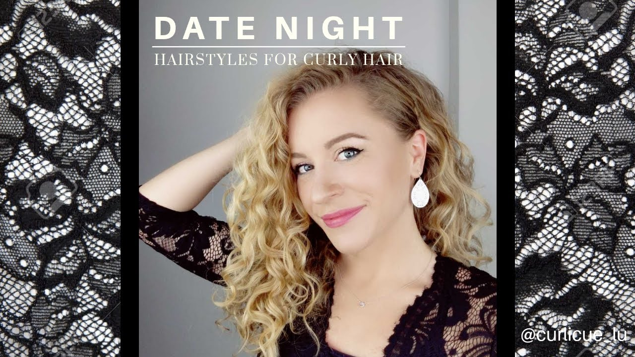 Date Night Hairstyles For Curly Hair