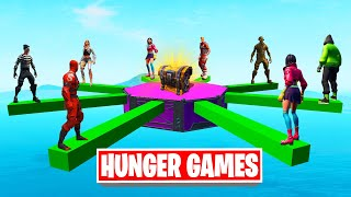 Playing HUNGER GAMES In FORTNITE! (Win = 10,000 V-Bucks)