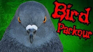 Паркур с Губкой Гопом - Flappy Bird Parkour