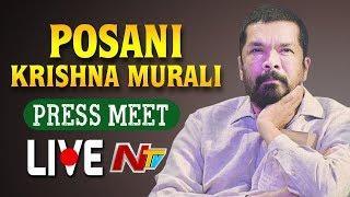 Posani Krishna Murali Press Meet LIVE | AP Election Results | NTV LIVE