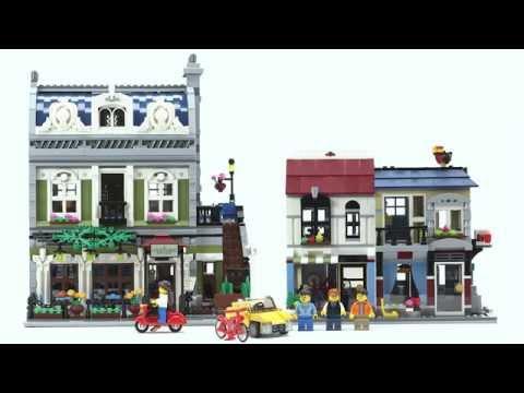 Bike Shop and Café - LEGO Creator - Designer Video 31026